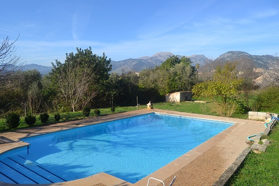 villa, campanet, swimming pool