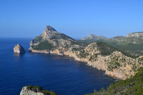 parasol property rentals, Jan Dexter, Mallorca, Formentor, scenery, sea,
