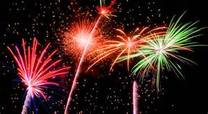 fiestas, fireworks