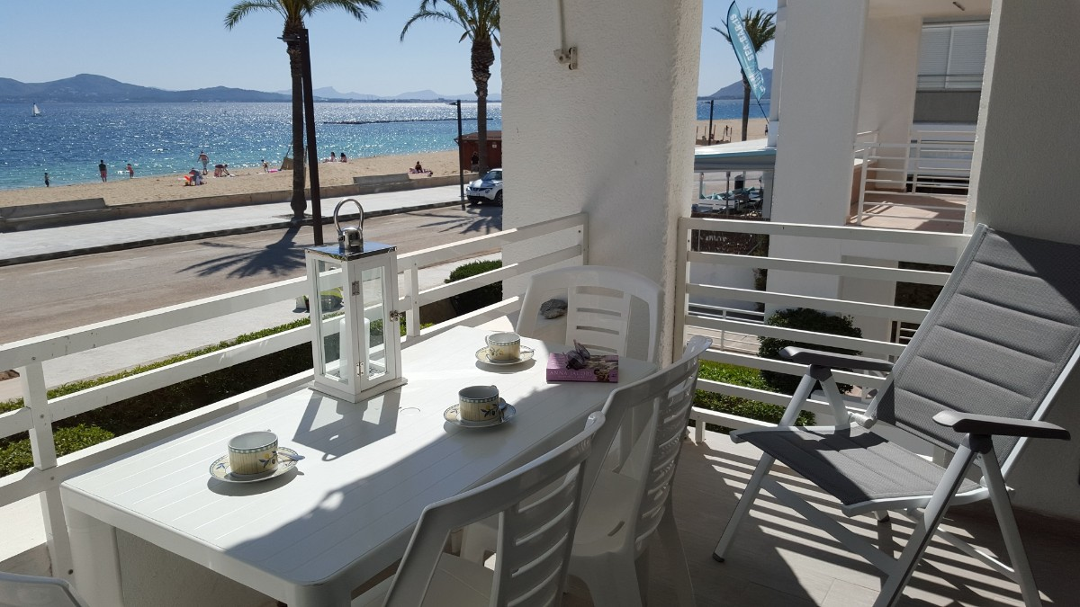 sea view apartment for sale Puerto Pollensa