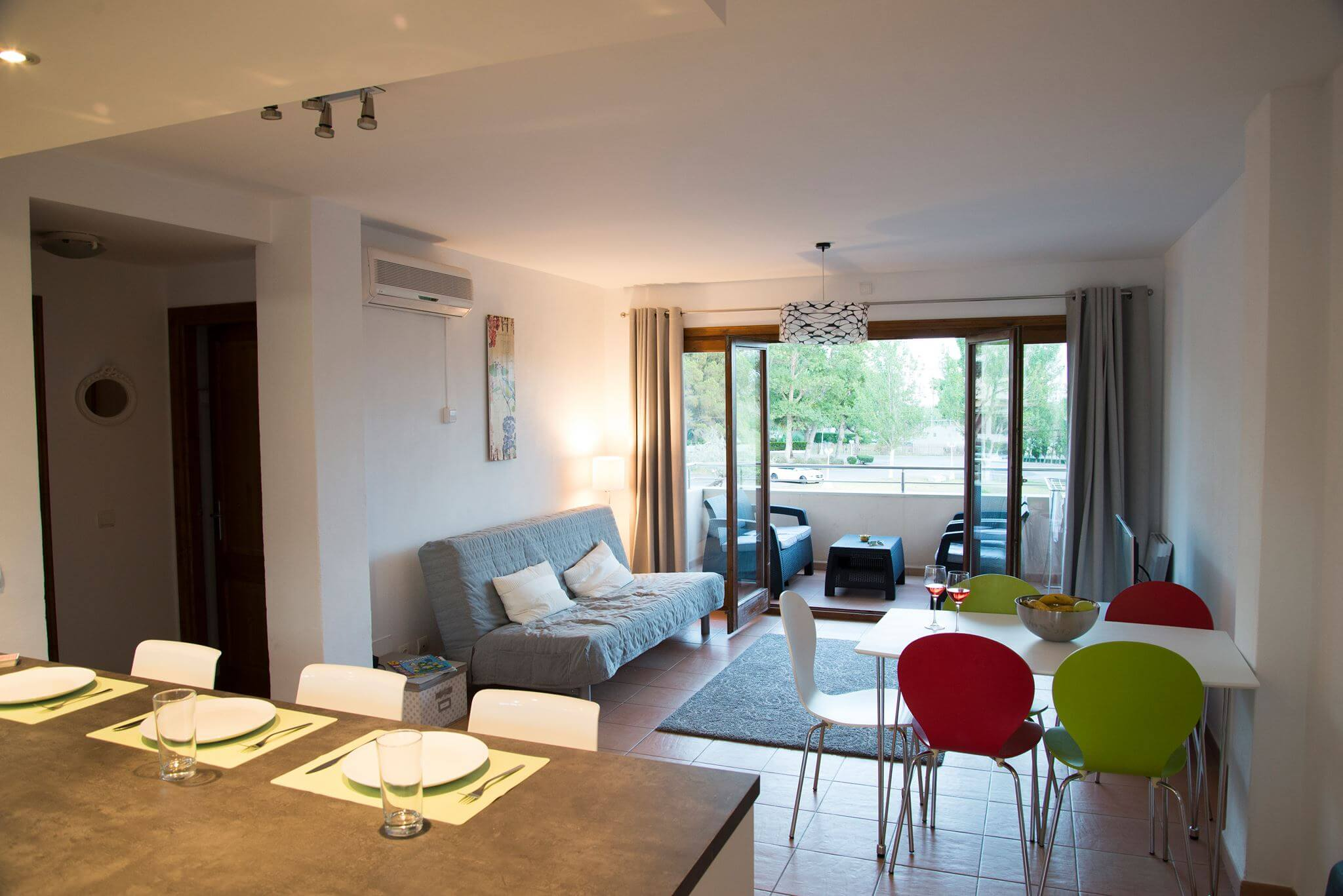 Corb Mari 1A two bedroom family apartment with communal pool Puerto Pollensa Mallorca