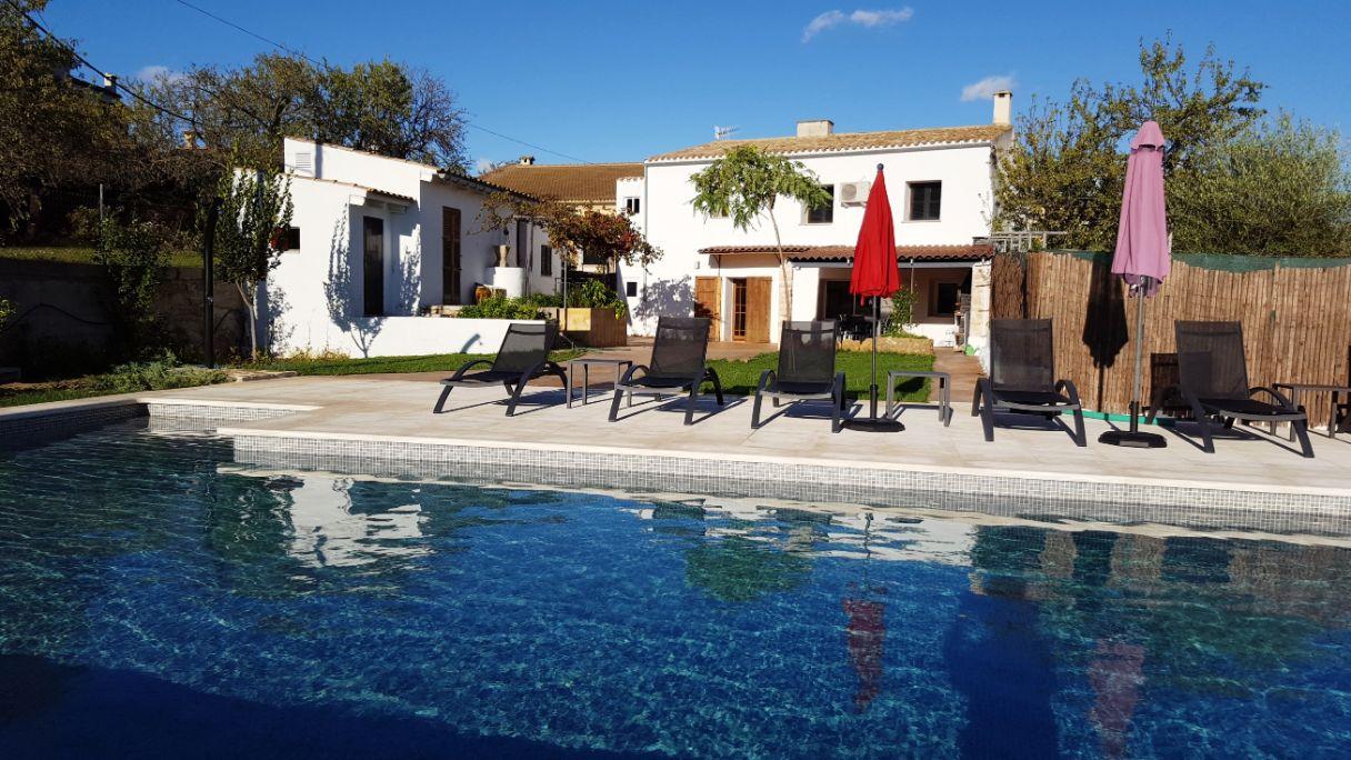 Casa Paco large family holiday villa with pool Campanet Mallorca