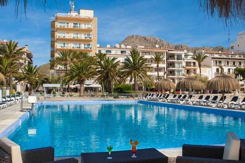 Hotel Daina 4* sea front hotel Puerto Pollensa Mallorca