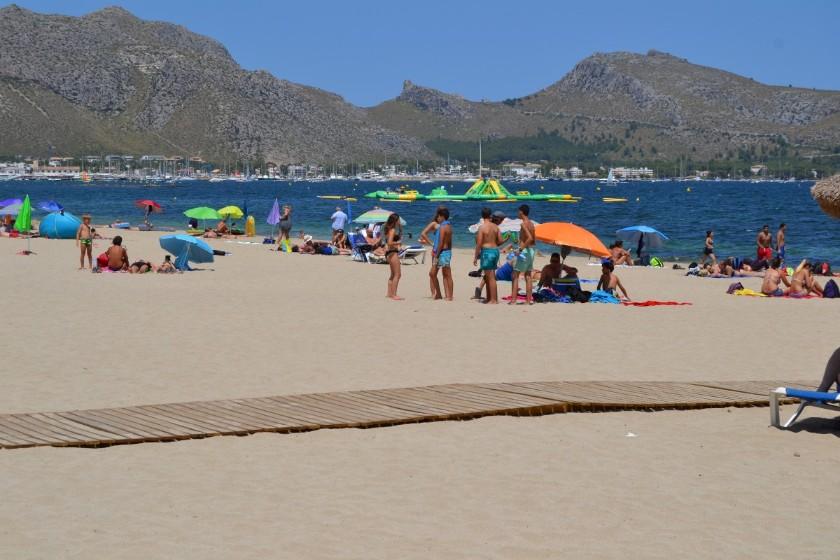 Llennaire Beach Puerto Pollensa Mallorca