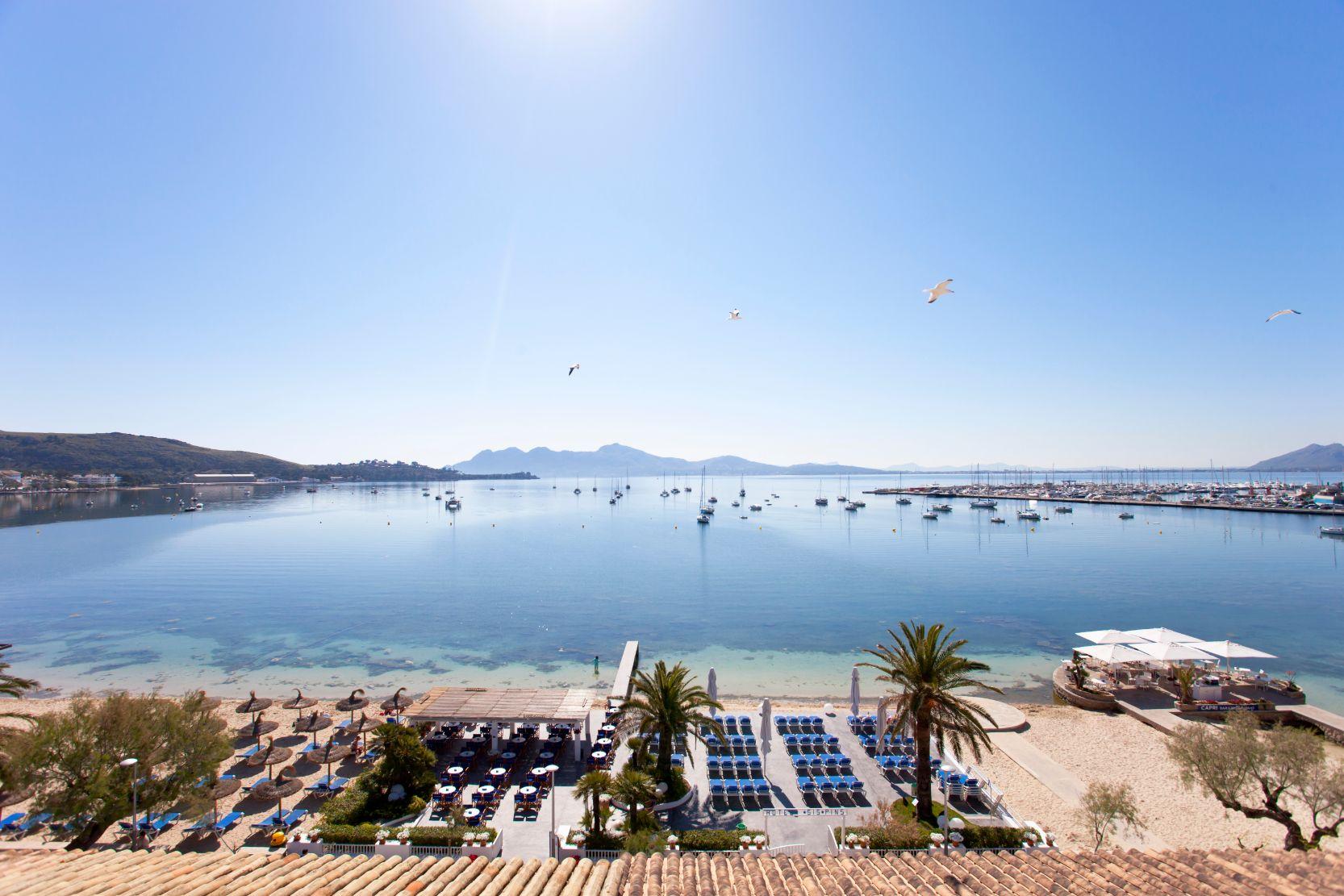 Hotel Sis Pins  3* Traditional Sea Front Hotel Puerto Pollensa Mallorca
