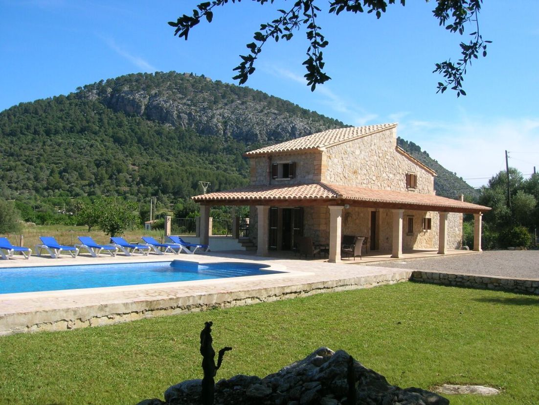 Winter Rental in Pollensa Mallorca Stunning Villa Son Brull with spectacular views