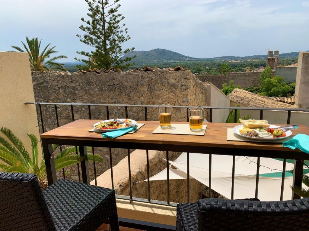 townhouse for holidays in Buger Mallorca