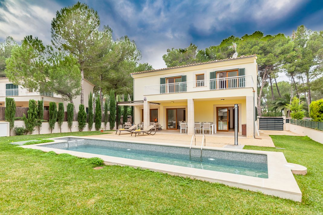 Luxury villa rental at Mal Pas beach Alcudia Mallorca