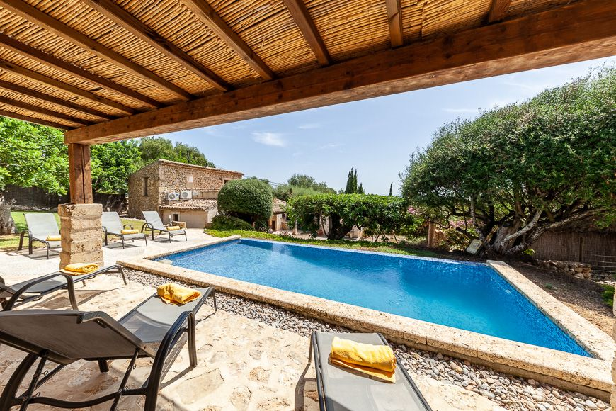 Secluded rural holiday villa in Pollensa Mallorca