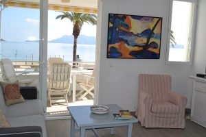 sea front holiday apartment